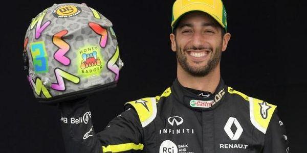 第 9 期 F1 赛车手丹尼尔·里卡多